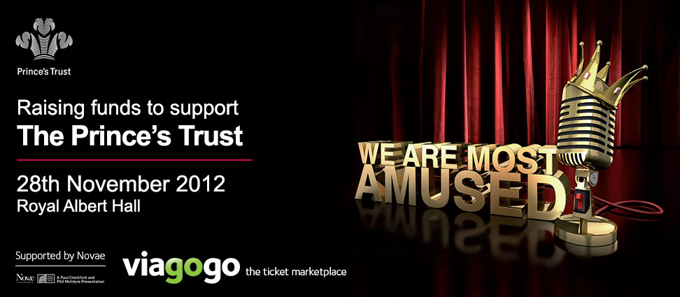 viagogo and The Prince's Trust