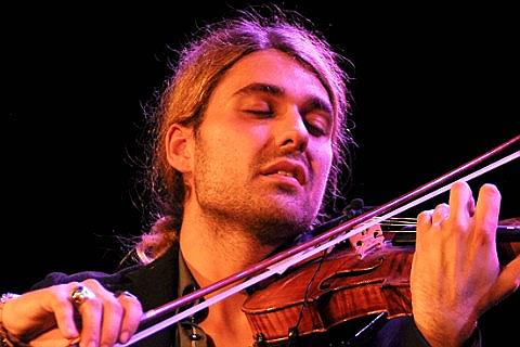 Ingressos para David Garrett