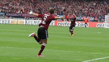 FC Nuremberg vs SV Sandhausen