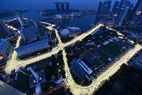 Place Grand Prix F1 - Singapour