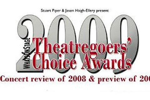 Whatsonstage.com Theatregoers' Choice Awards Liput