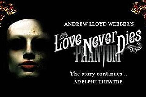 Love Never Dies Liput