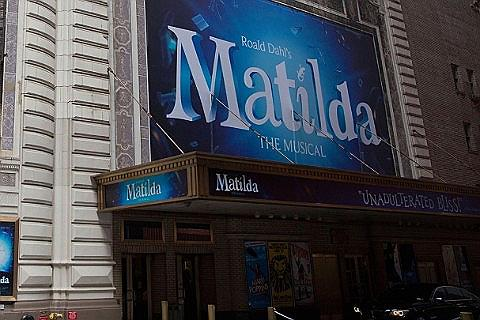 Matilda Musical-billetter
