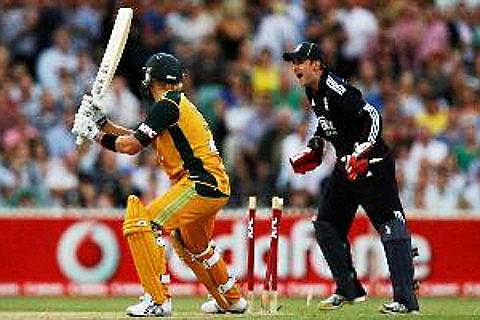 England Australia Cricket-billetter