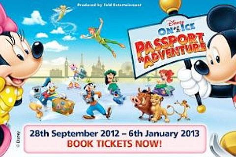 Disney On Ice-Passport To Adventure Liput