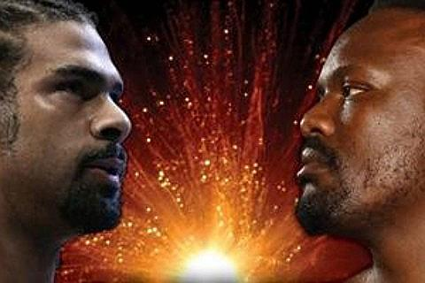 David Haye v Dereck Chisora-billetter