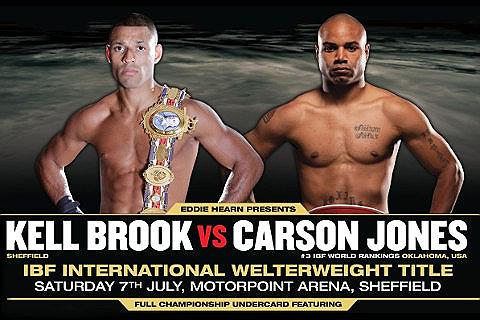 Place Kell Brook v Carson Jones