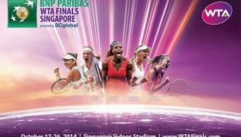 BNP Paribas WTA Finals Singapore  Session 3