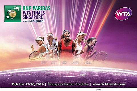 BNP Paribas WTA Finals Singapore presented by SC Global Tickets