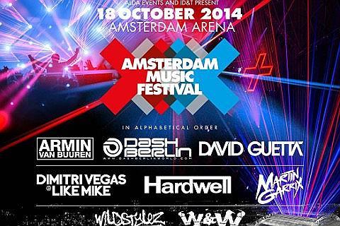 Amsterdam Music Festival Tickets
