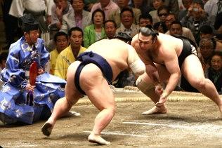 Sumo Wrestling in Japan – May Tournament