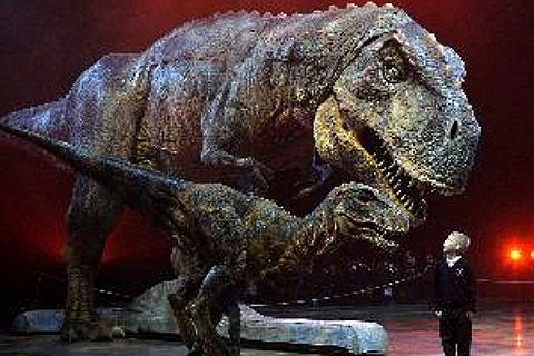 Walking With Dinosaurs-billetter