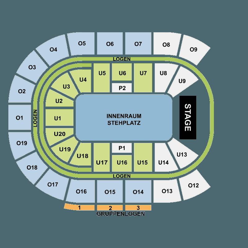 tickets f r volbeat barclaycard arena hamburg o2 world hamburg hamburg fr 28 okt 2016 viagogo. Black Bedroom Furniture Sets. Home Design Ideas