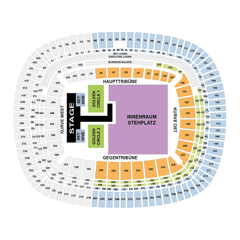 Commerzbank Arena Beyonce