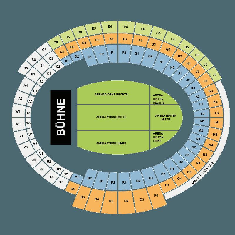 Rod Stewart Olympiahalle Munich Mnchen Tickets  Fri 20