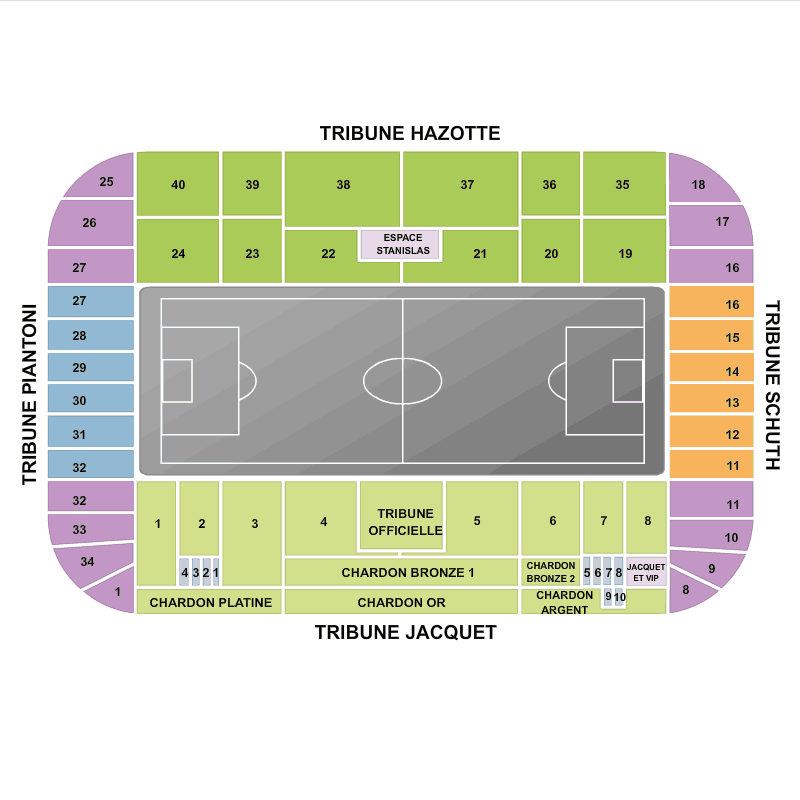Biglietti AS Nancy Lorraine vs Angers SCO Stade Marcel ...