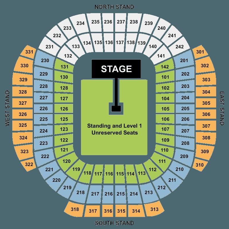 ac dc etihad stadium manchester tickets thu 09 jun 2016 viagogo. Black Bedroom Furniture Sets. Home Design Ideas