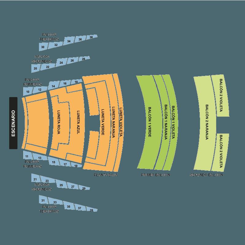 billets concierto teatro diana guadalajara lun 21 ao t 2017 viagogo. Black Bedroom Furniture Sets. Home Design Ideas