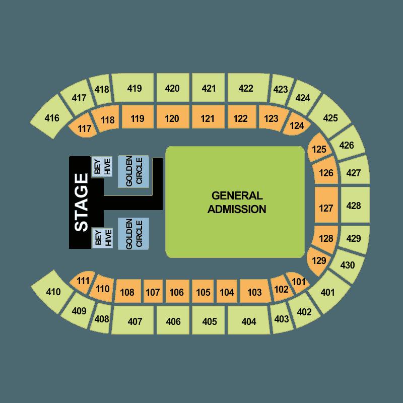 beyonc amsterdam arena amsterdam tickets sat 16 jul 2016 viagogo. Black Bedroom Furniture Sets. Home Design Ideas
