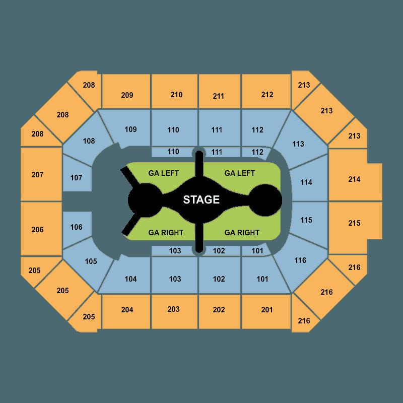 Allstate Arena Floor Plan: Carrie Underwood Allstate Arena Rosemont Tickets