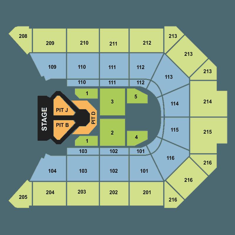 Allstate Arena Floor Plan
