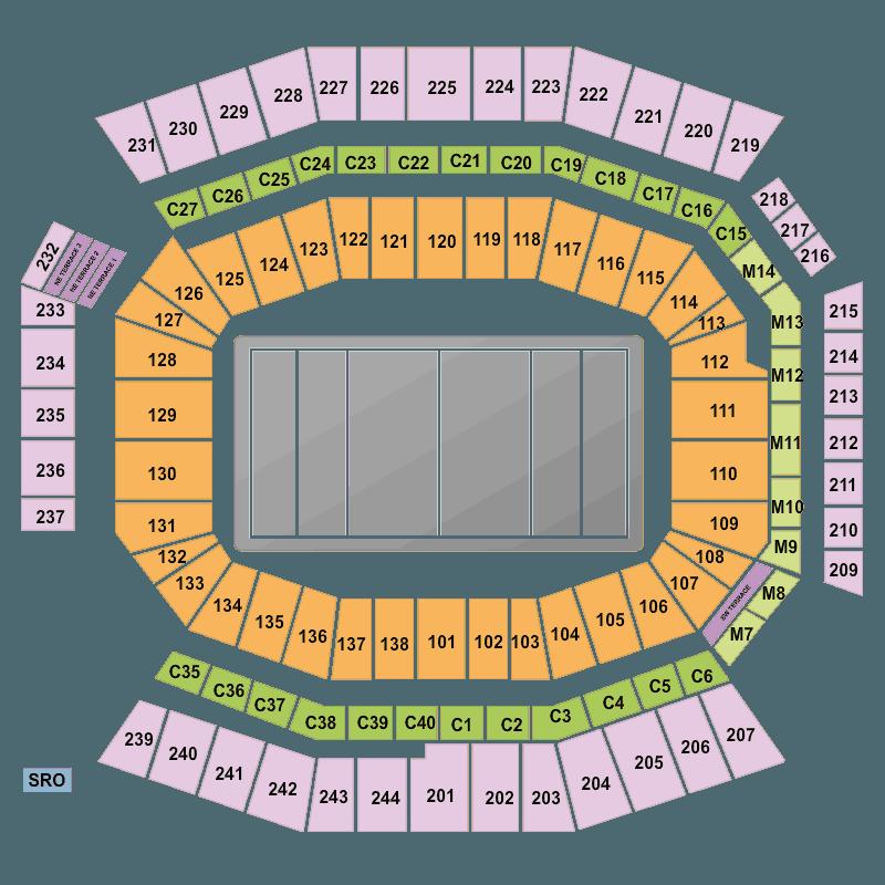 Colorado Eagles Tickets: Philadelphia Eagles Vs New York Giants Lincoln Financial