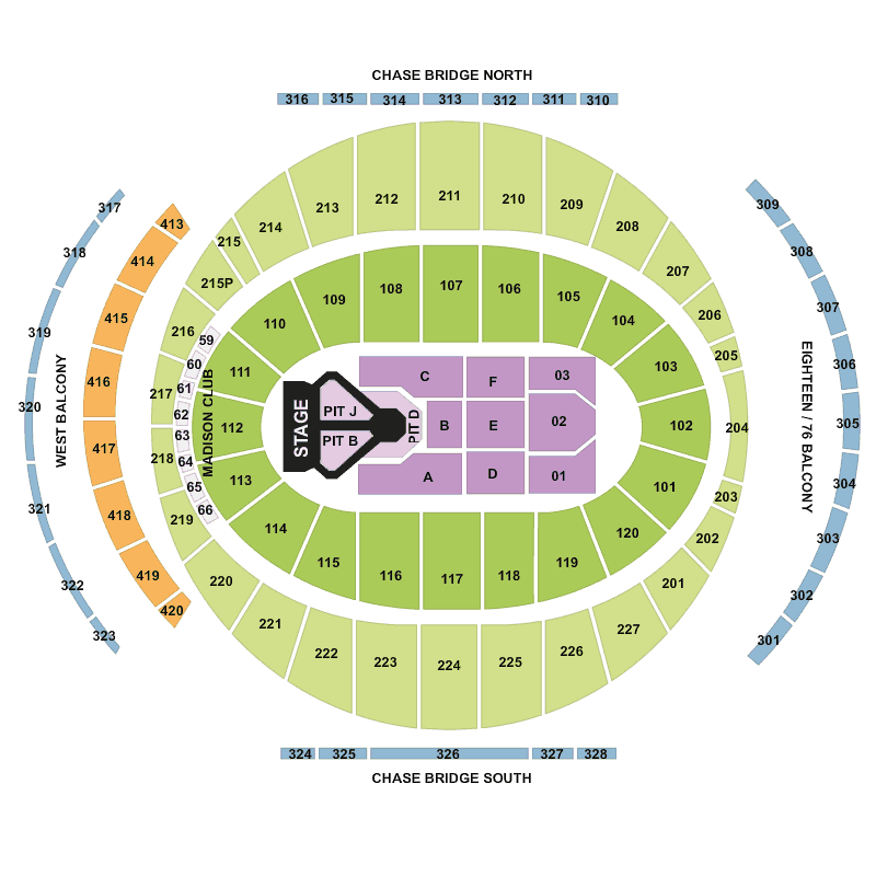 Justin Bieber Madison Square Garden New York Tickets Mon 18 Jul 2016 Viagogo