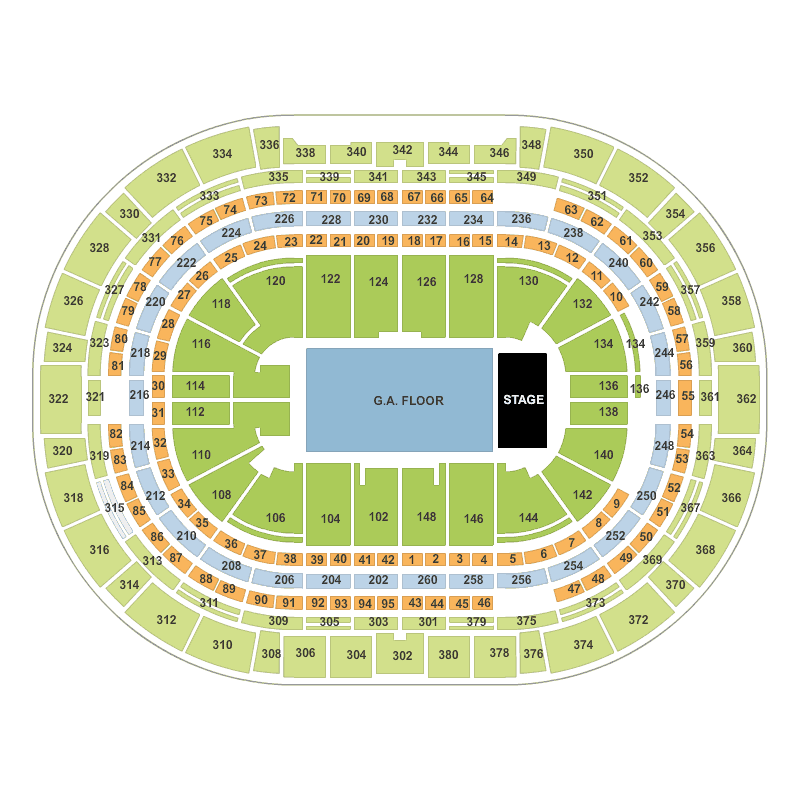 Eric Church Pepsi Center  Denver Denver Tickets  Wed Apr
