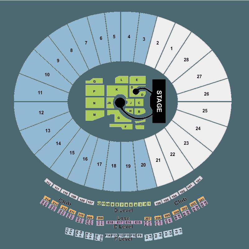 coldplay rose bowl pasadena tickets sun 21 aug 2016 viagogo. Black Bedroom Furniture Sets. Home Design Ideas