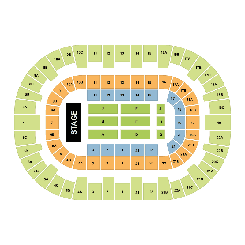san diego sports arena seating chart
