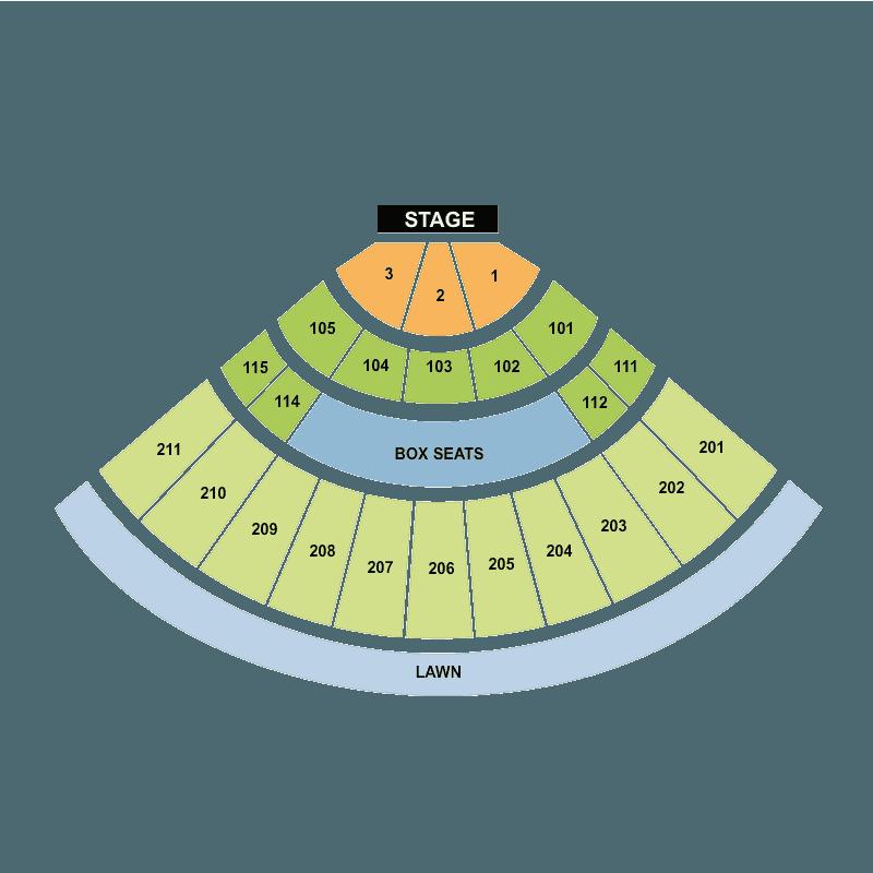 Sleep Train Amphitheatre Wheatland Seating Chart Picture