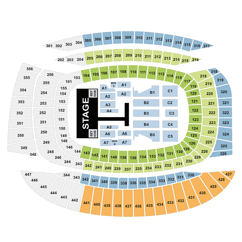 beyonc soldier field chicago tickets fri 27 may 2016 viagogo. Black Bedroom Furniture Sets. Home Design Ideas