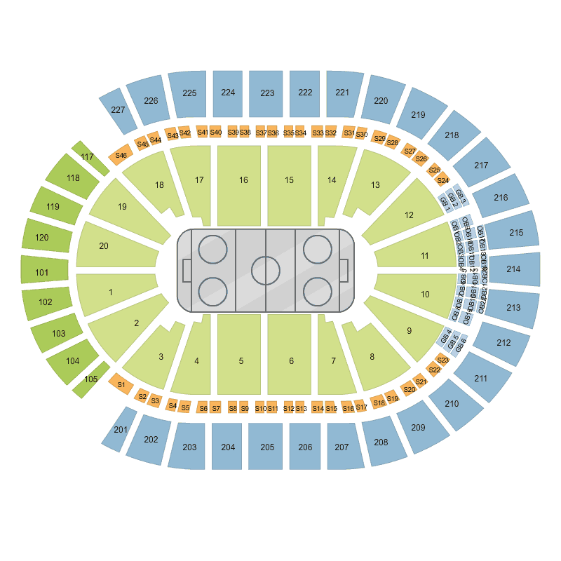 T Mobile Arena Map 28 Images Guide To T Mobile Arena Seating