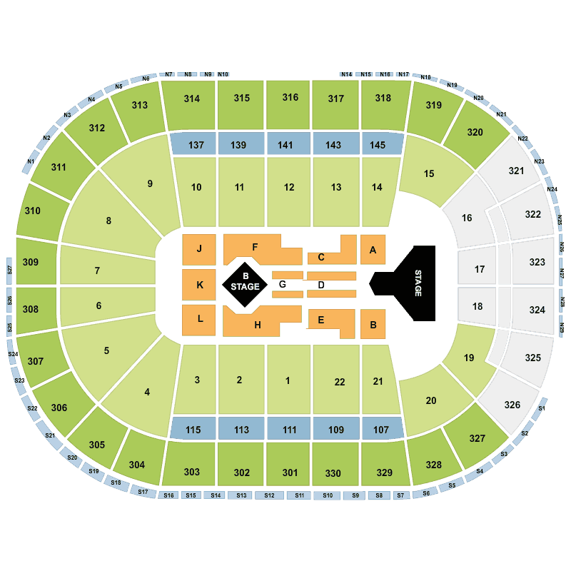 Adele td garden boston tickets wed 14 sep 2016 viagogo for Td garden seating chart with seat numbers