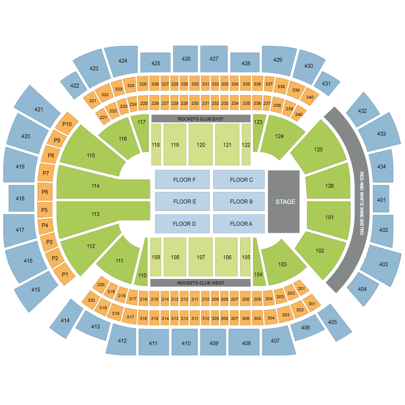 Barbra Streisand Toyota Center Tx Houston Tickets Sun