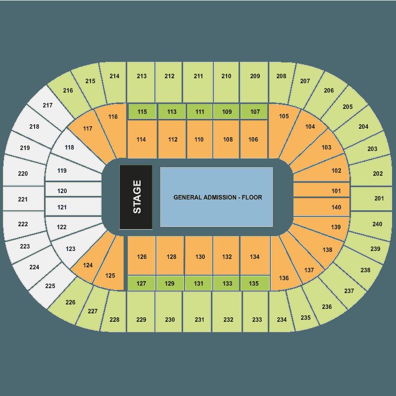 Us Bank Arena Map Cincinnati